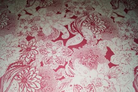 Купить атласную ткань с печатным рисунком в интернет магазине тканей fashion G